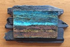 Bilde rekved Tre, metall (30x53 cm) kr 6000