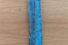 Lang blå Metall (100x11 cm) kr 6000