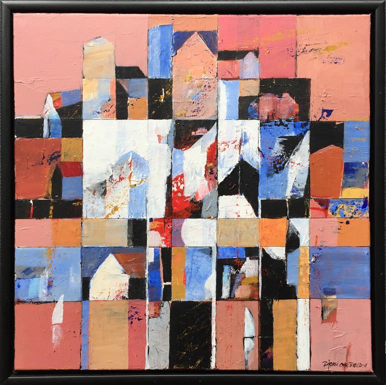 To seil Akrylmaleri (50x50 cm) kr 5000 mr