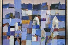 Den blå timen Akrylmaleri (40x50 cm) kr 5800 mr