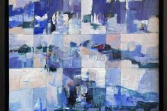 Vinterdag Akrylmaleri (50x50 cm) kr 6500 mr