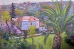 Have i Vence Akrylmaleri 30x40cm 4500,-kr m.r.