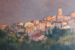Vence-i-morgenlys-Akrylmaleri-60x80cm-13000-kr-m.r.