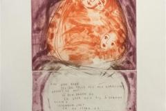 Fine gode barn Etsning (33x21 cm) kr 2600 ur