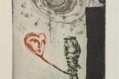 Stol på hjertet ditt Etsning (19x14 cm) kr 1400 ur
