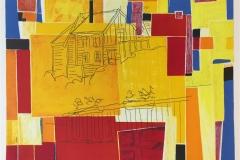 Sommer II. Litografi, tegning (50x65 cm) kr 3700 ur