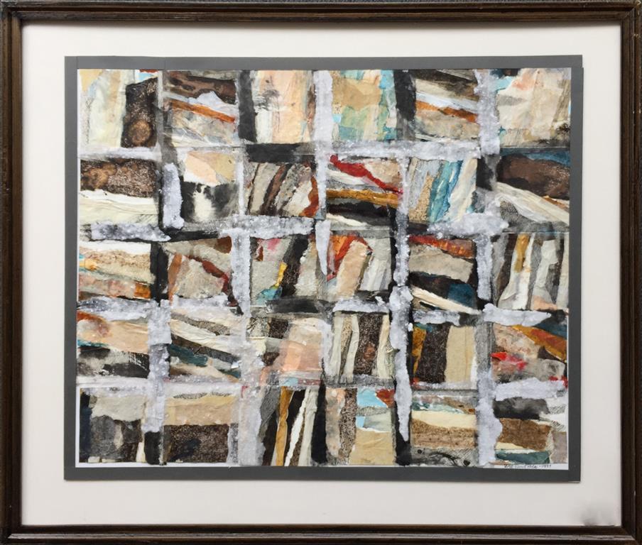 Komposisjon 209 Collage (50x60 cm) kr 5800 mr