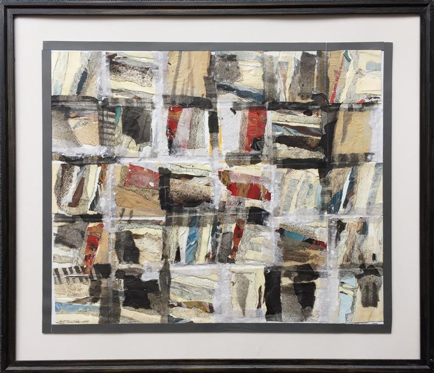 Komposisjon 210 Collage (50x60 cm) kr 5800 mr