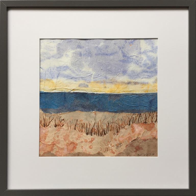 Landskap XI Collage (32x32 cm) kr 2900 mr