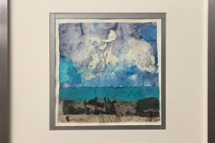 Landskap XVII Collage (26x26 cm) kr 2900 mr
