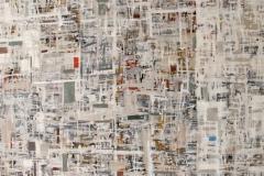 By 24 Akrylmaleri 71,5x142cm 8000,-kr u.r.