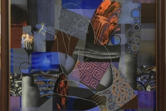 Nocturne Akrylmaleri (70x70 cm) kr 22000 mr