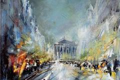La Madeleine Oljemaleri (50x61 cm) kr 23000 ur