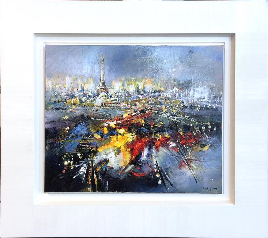 Impression parisienne Maleri (46x55 cm) kr 18000 mr