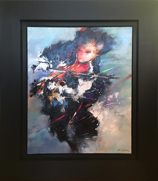 Le violoniste Maleri (65x54 cm) kr 23000 mr