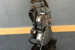 Le violon Stål og rustfritt stål (H 41 cm) kr 30000