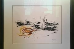 Les Courses Akvarell (55x65 cm) kr 20000 mr