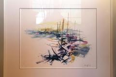 Marine Akvarell (55x65 cm) kr 20000 mr
