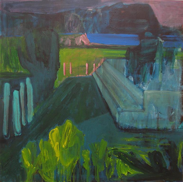 Untitled Akryl på lerret (90x90 cm)