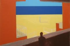 Contemplation III Akryl på lerret (55x73 cm)