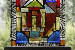 Glassbilde IV 19x19cm 2500,-kr