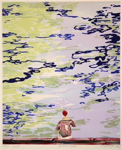 Summer waves Digitale trykk 31x25,5cm 1500,-kr u.r.