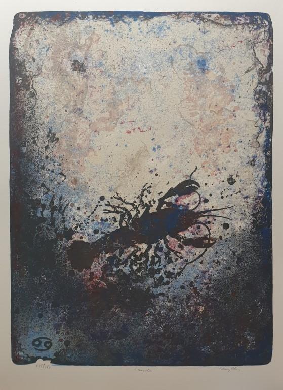 Krepsen (Jeg føler) Litografi (65x48 cm) kr 3800 ur
