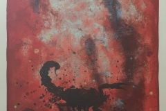 Skorpionen (Jeg begjærer) Litografi (65x48 cm) kr 3800 ur