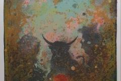 Tyren (Jeg eier) Litografi (65x48 cm) kr 3800 ur