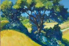 Endelig sommer Maleri (100x90 cm) kr 25000 ur