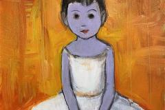Lille danserinne Maleri (35x27 cm) kr 7000 ur