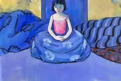 Meditasjon Maleri (110x100 cm) kr 28000 ur