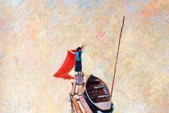 Vaskedag Maleri (70x100 cm) kr 20000 ur