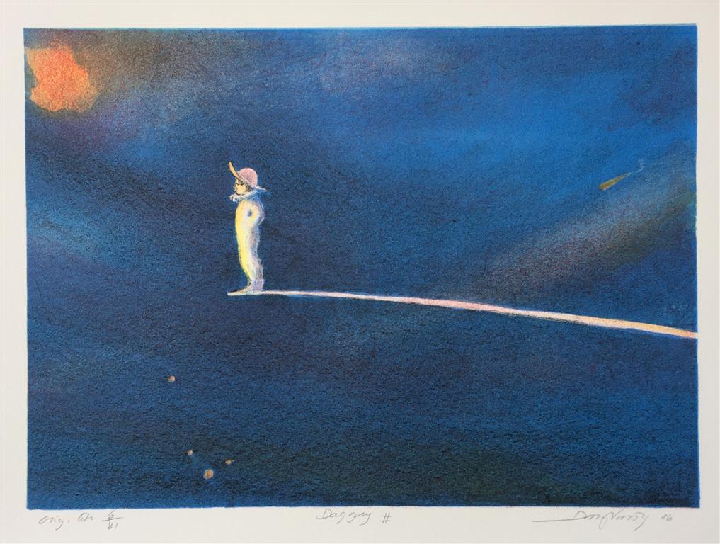 Daggry Litografi (22x32 cm) kr 1500 ur