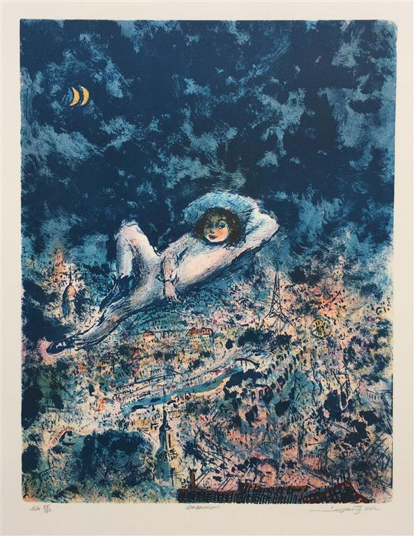 Drømmen Litografi (46x36 cm) kr 2500 ur
