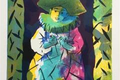 Joker Litografi 825x22 cm) kr 1200 ur