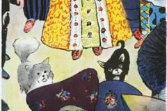 Kommer prinsen Litografi (50x23,5 cm) kr 2500 ur