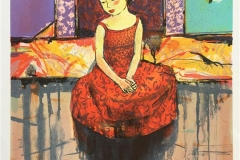 Lille danserinne Litografi (50x38,5 cm) kr 2800 ur