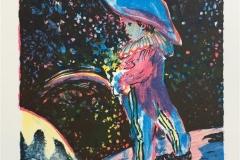 Regnbuen Litografi (20x18,5 cm) kr 900 ur