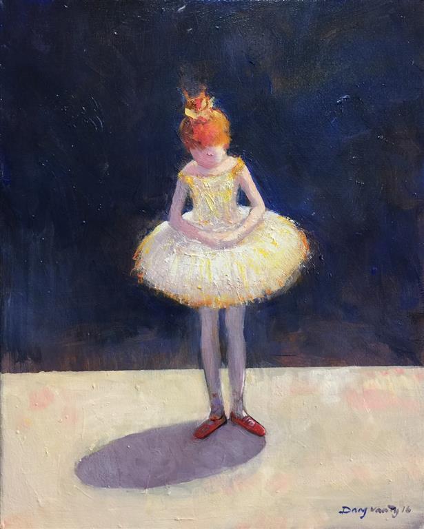 Liten ballerina Maleri (41x33 cm) kr 5000 ur