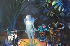 Amor Maleri (90x80 cm) kr 20000 ur
