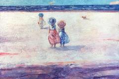 Fransk sommer Maleri (65x70 cm) kr 14000 mr