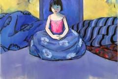 Meditasjon Maleri (110x100 cm) kr 25000 ur