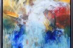 Arne Gundestrup Mexicansk stemning Akrylmaleri (80x60 cm) kr 4800 mr