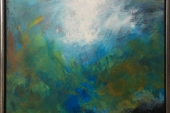 Arne Gundestrup Springtime Akrylmaleri (80x60 cm) kr 4800 mr