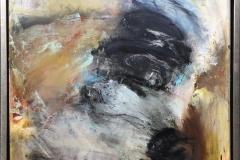 Birgit Juhl Livsenergi III Oljemaleri (50x50 cm) kr 4300 mr