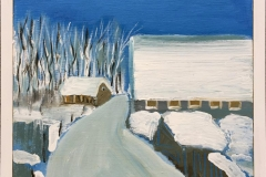 Jette Dümke Vinter Akrylmaleri (30x30 cm) kr 2800 mr