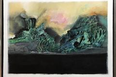 Lilla Ann Gundestrup Azorene 1 Akrylmaleri (60x80 cm) kr 3800 mr