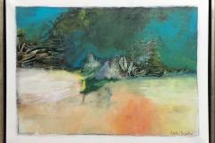 Lilla Ann Gundestrup Azorene 2 Akrylmaleri (60x80 cm) kr 3800 mr
