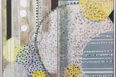 Ulla Holt Komposisjon I Tempera (70x80 cm) kr 4800 mr